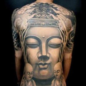 buddhatatooback