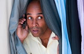infidelitymanonphonebetweencurtains
