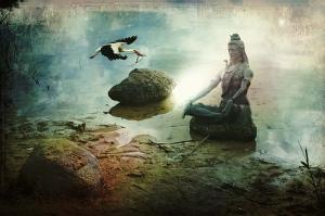 meditationstatueocean
