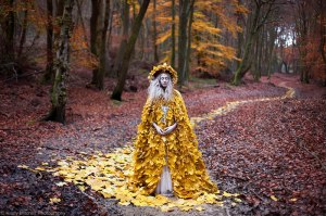 Solitaryinthewoods dripping leaves KIrsty Mitchell