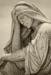 suffering woman sculpture