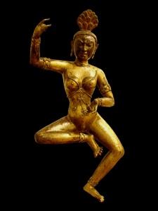 Dakini_Tibet gold