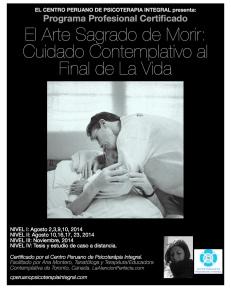 Certificado por el Centro Peruano de Psicoterapia Integral