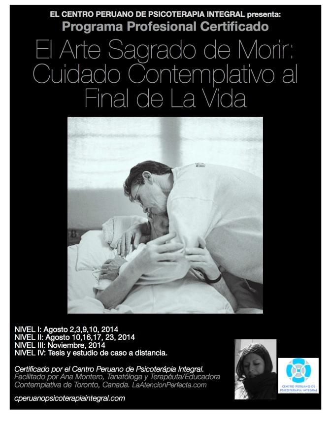 Programa El Arte Sagrado de Morir: Cuidado Contemplativo al Final de la Vida – Lima Agosto 2014