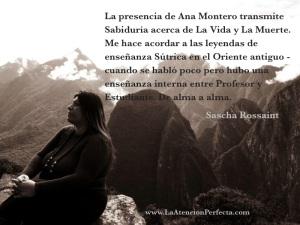 Ana Montero quote sascha Rossaint