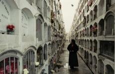 Caminando por el Cementerio. Quizas seré enterrada aca también.