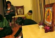 En taller de Magdalena. El Buda Medicinal.